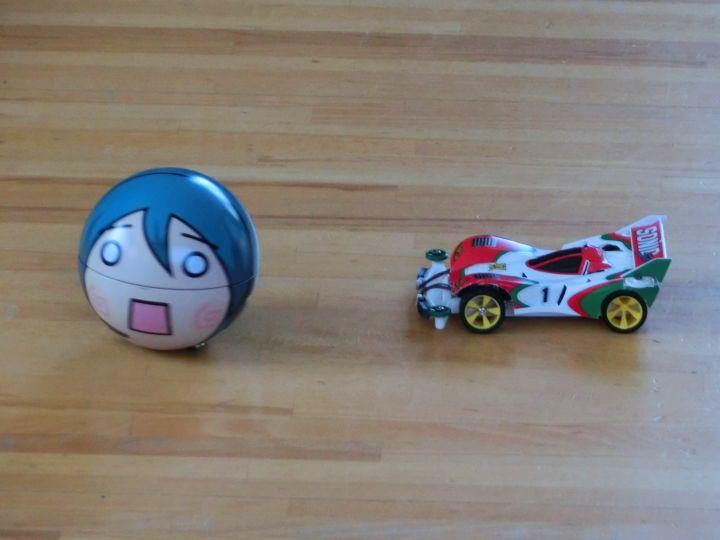 ミニ四駆型ラジコンとロボット2