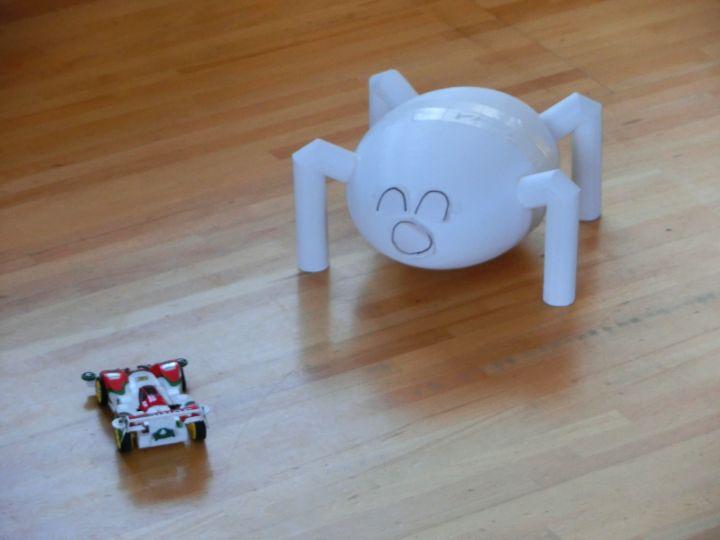 ミニ四駆型ラジコンとロボット3